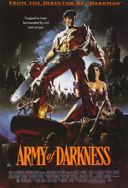 Army of Darkness Low on Gas Poster