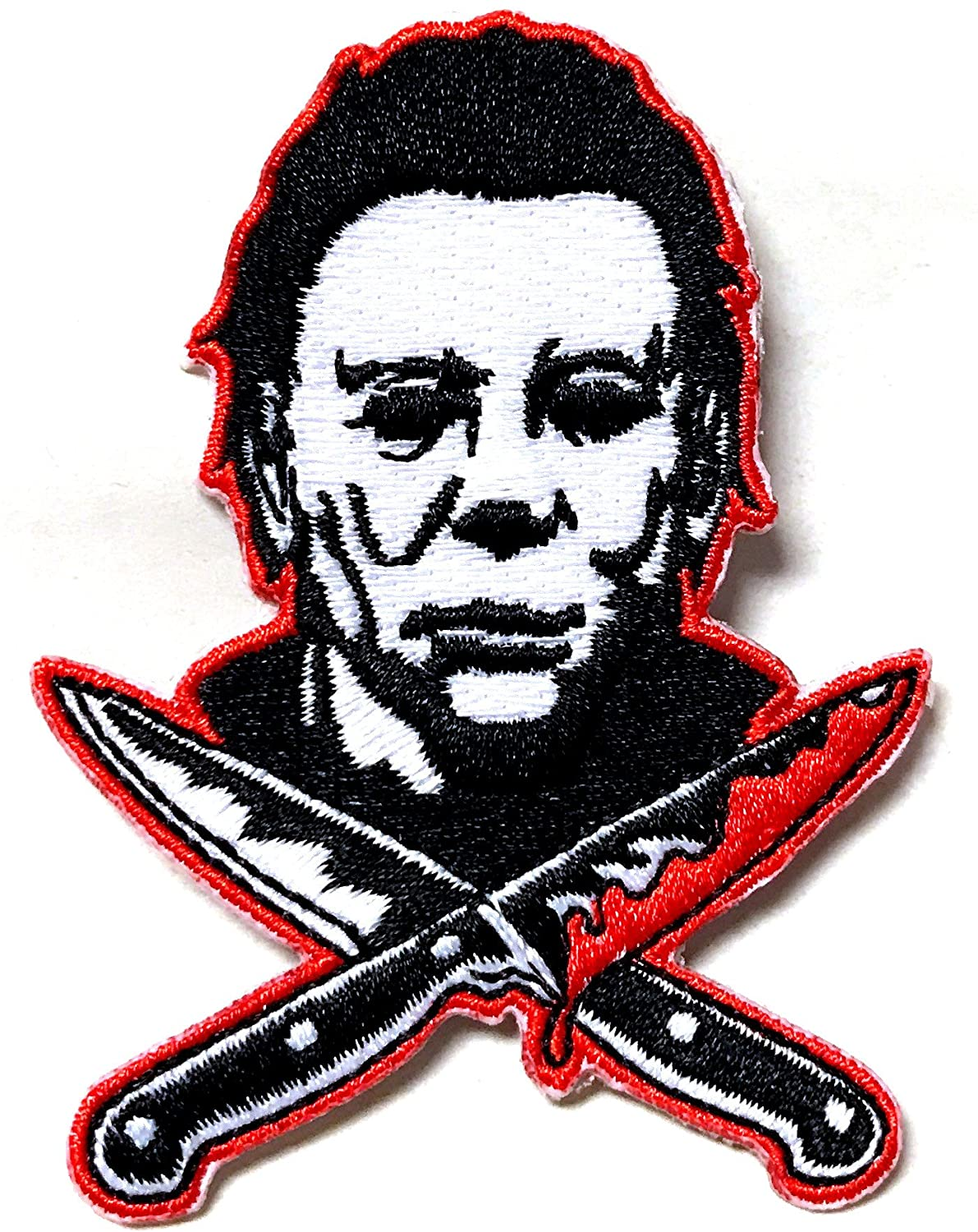 Halloween 2 Michael Myers Knives Embroidered Patch