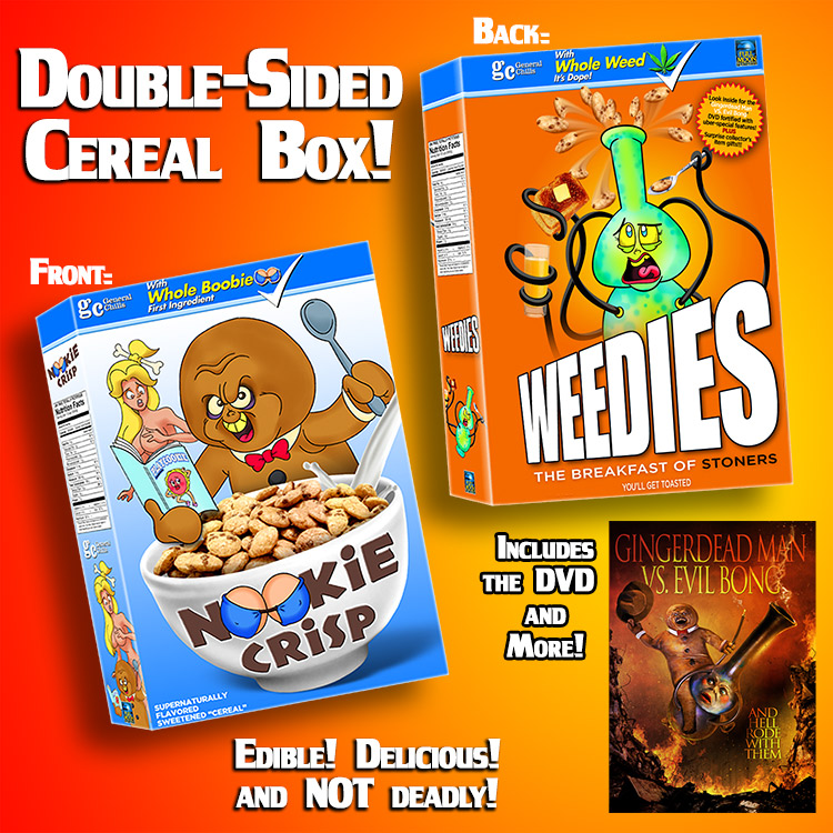 Nookie Crisp/Weedies Double­Sided Collector's Cereal Box