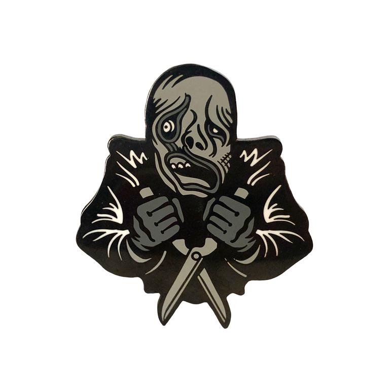 Burned Groundskeeper Enamel Pin