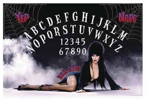Elvira Mistress of the Dark Spectral Switchboard Game