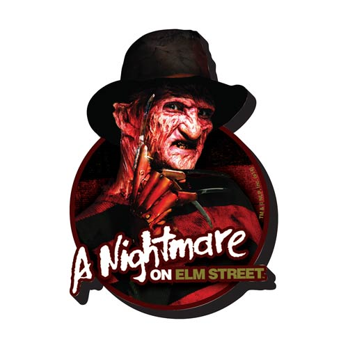 Nightmare on Elm Street - Freddy Funky Chunky Magnet