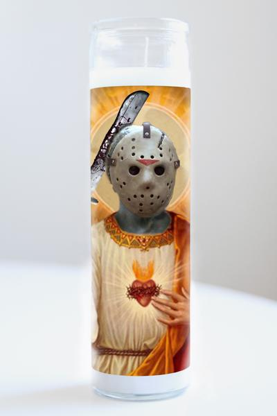 "Saint Jason Voorhees Friday the 13th 8"" Prayer Candle"