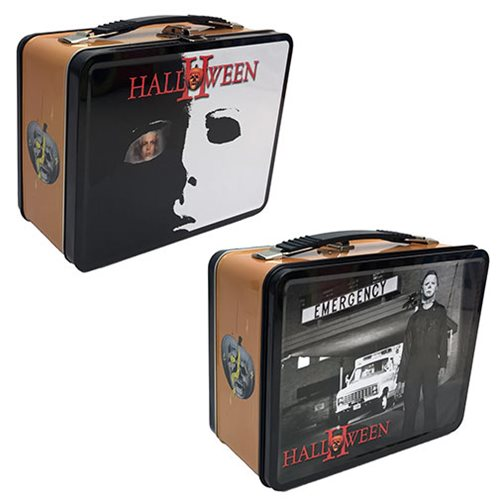 Halloween 2 Tin Tote Lunch Box
