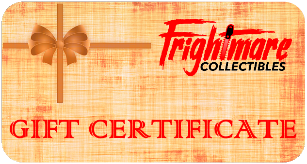 Frightmare Collectibles Gift Certificate