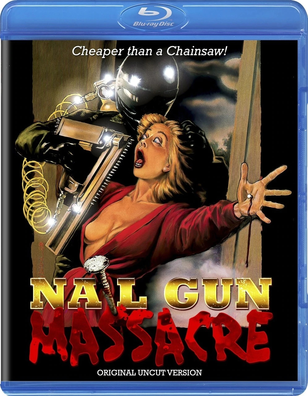 Nail Gun Massacre Code Red Blu Ray