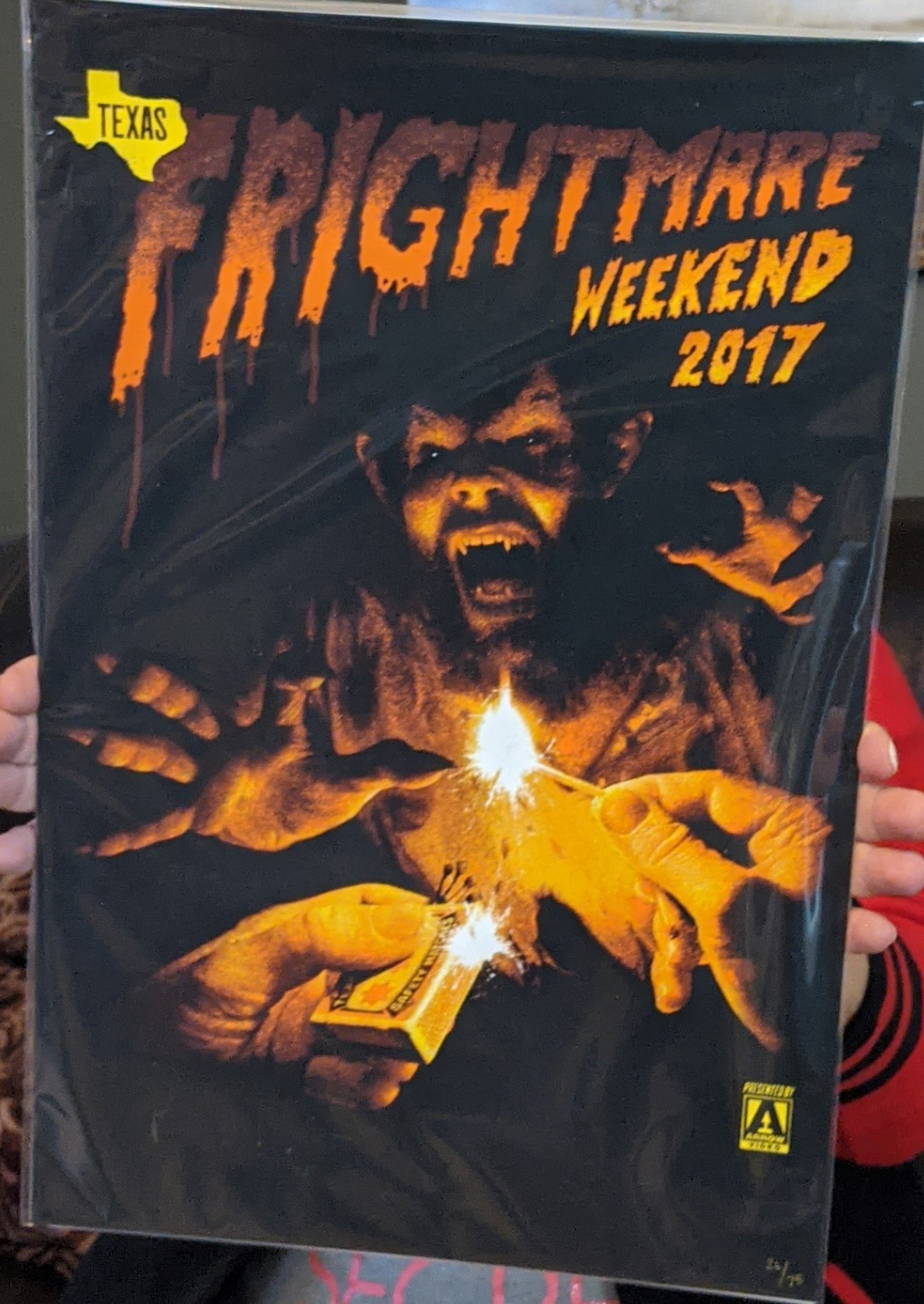 Texas Frightmare Weekend 2017 Poster Print