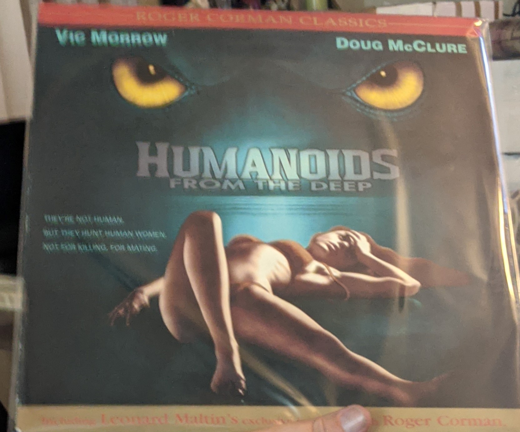 Humanoids from the Deep Laserdisc (Pre owned)