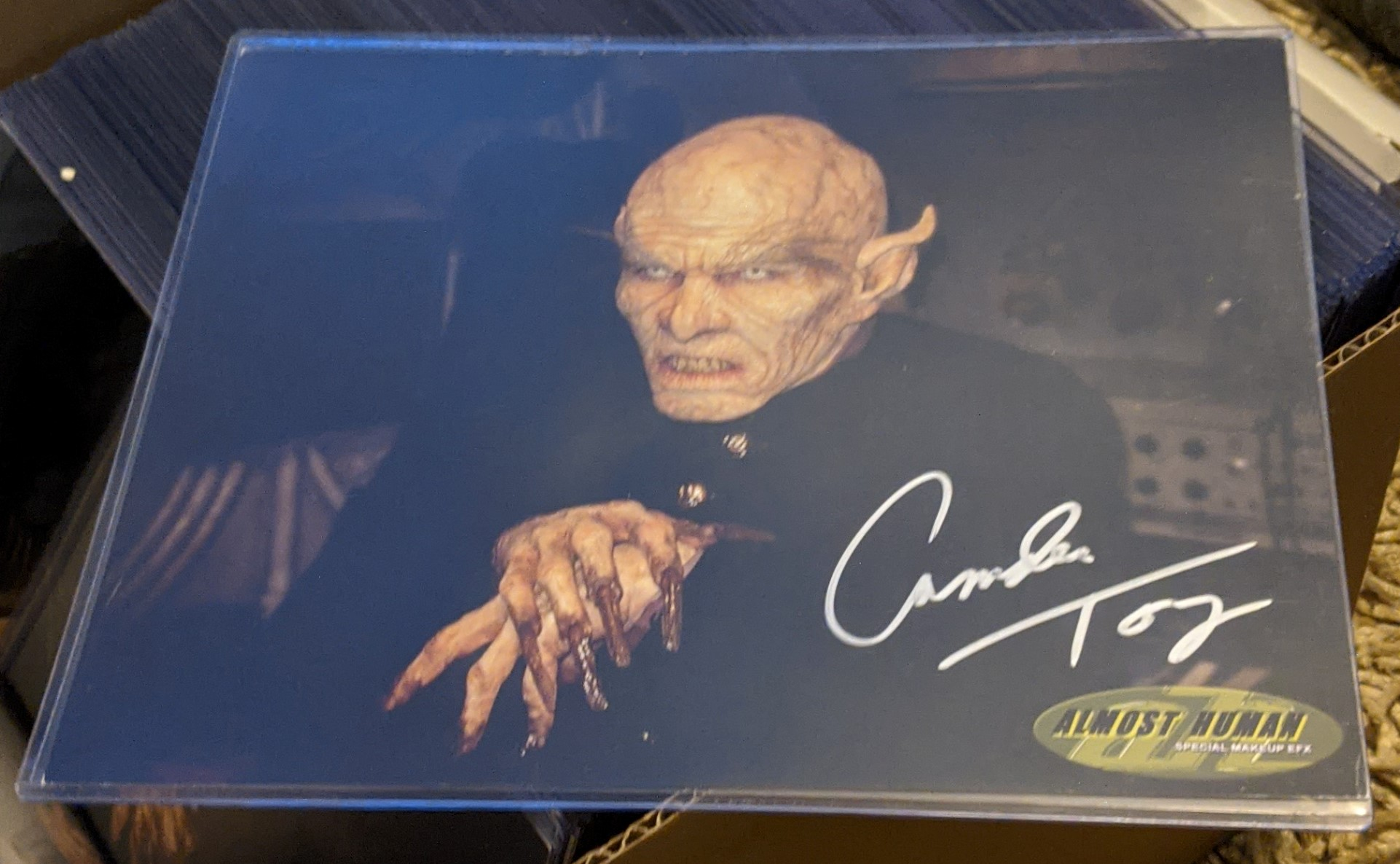 Camden Toy Buffy Autographed