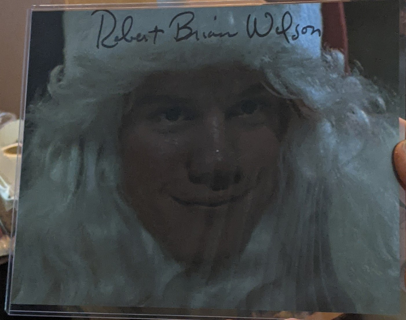 Robert Brian Wilson Autographed SILENT NIGHT DEADLY NIGHT D