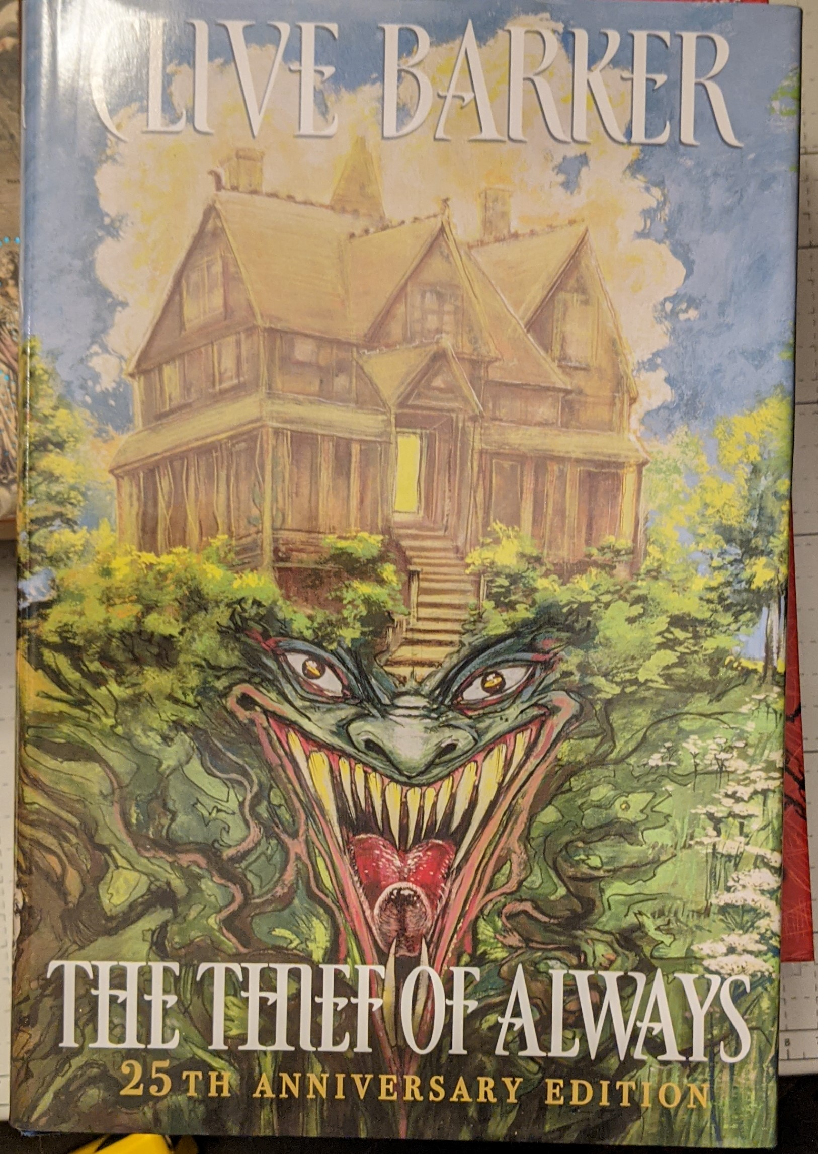 The Thief of Always by Clive Barker Autographed Publisher's Copy Hardcover Book