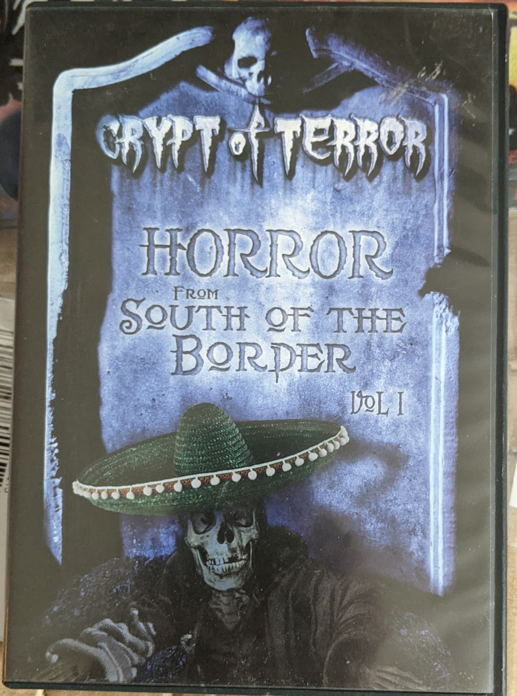 Crypt of Terror - Horror from South of the Border Vol. 1 (DVD, 2007, 4-Disc Set) Pre Owned