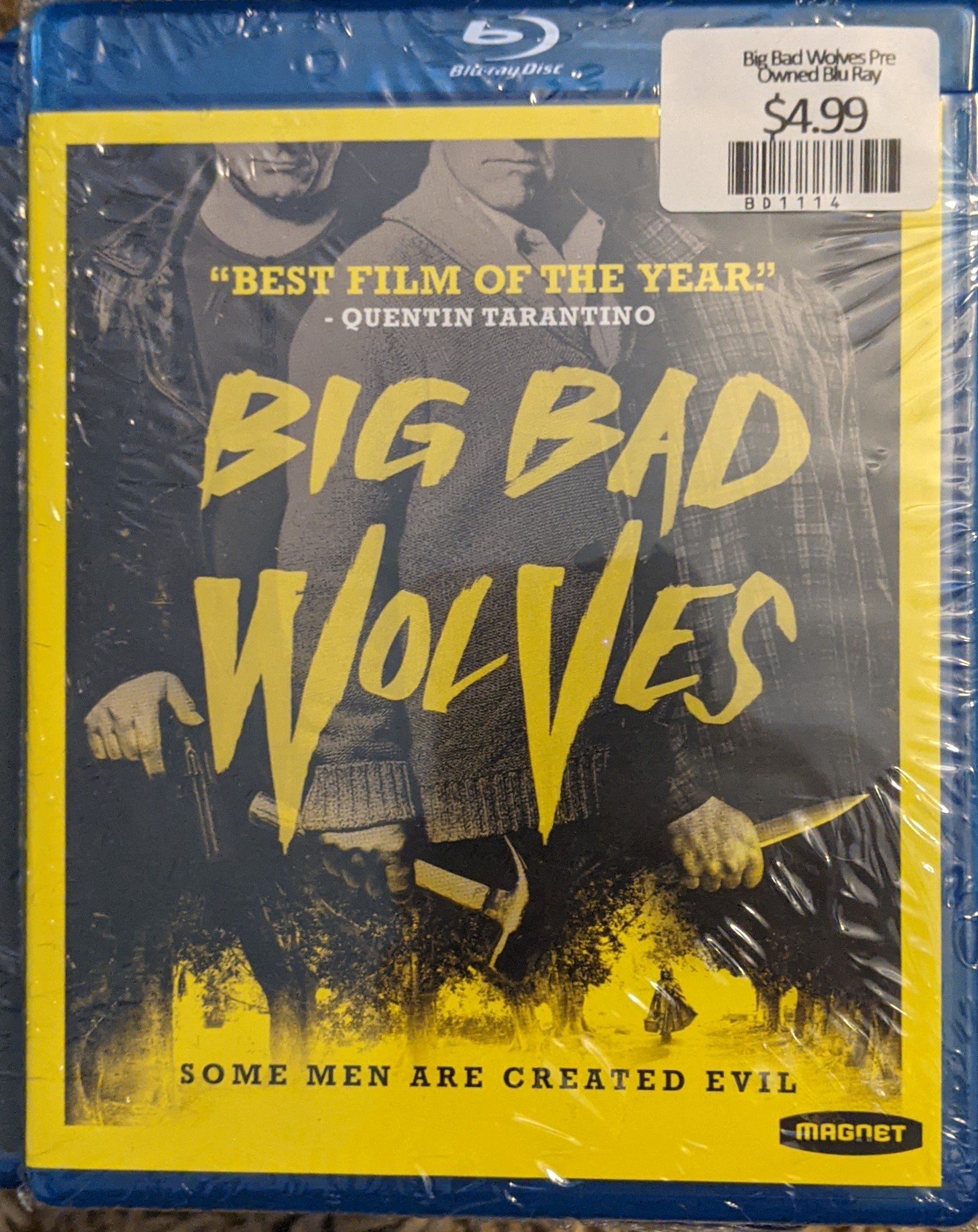 Big Bad Wolves Pre Owned Blu Ray