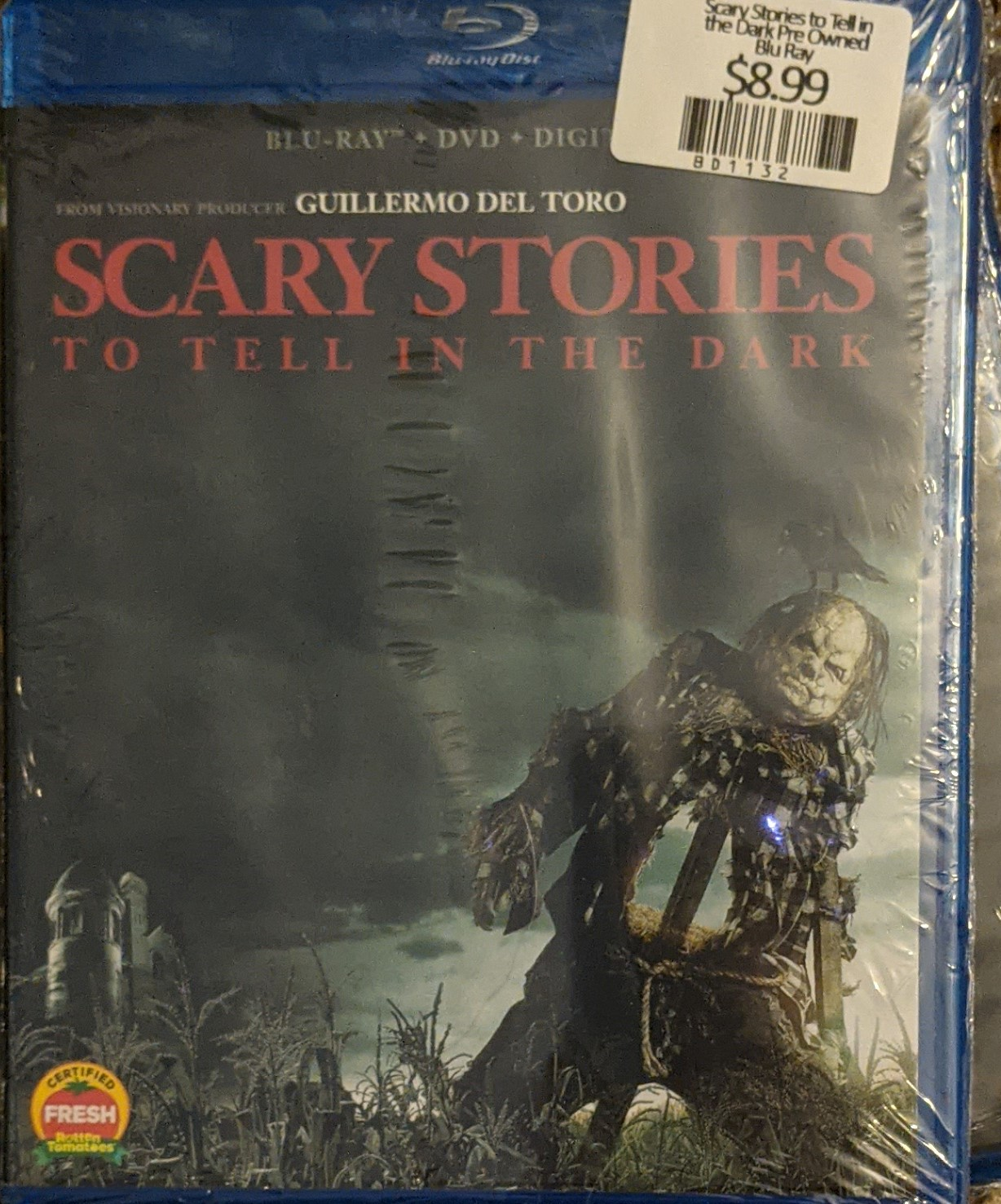 Scary Stories to Tell in the Dark Pre Owned Blu Ray