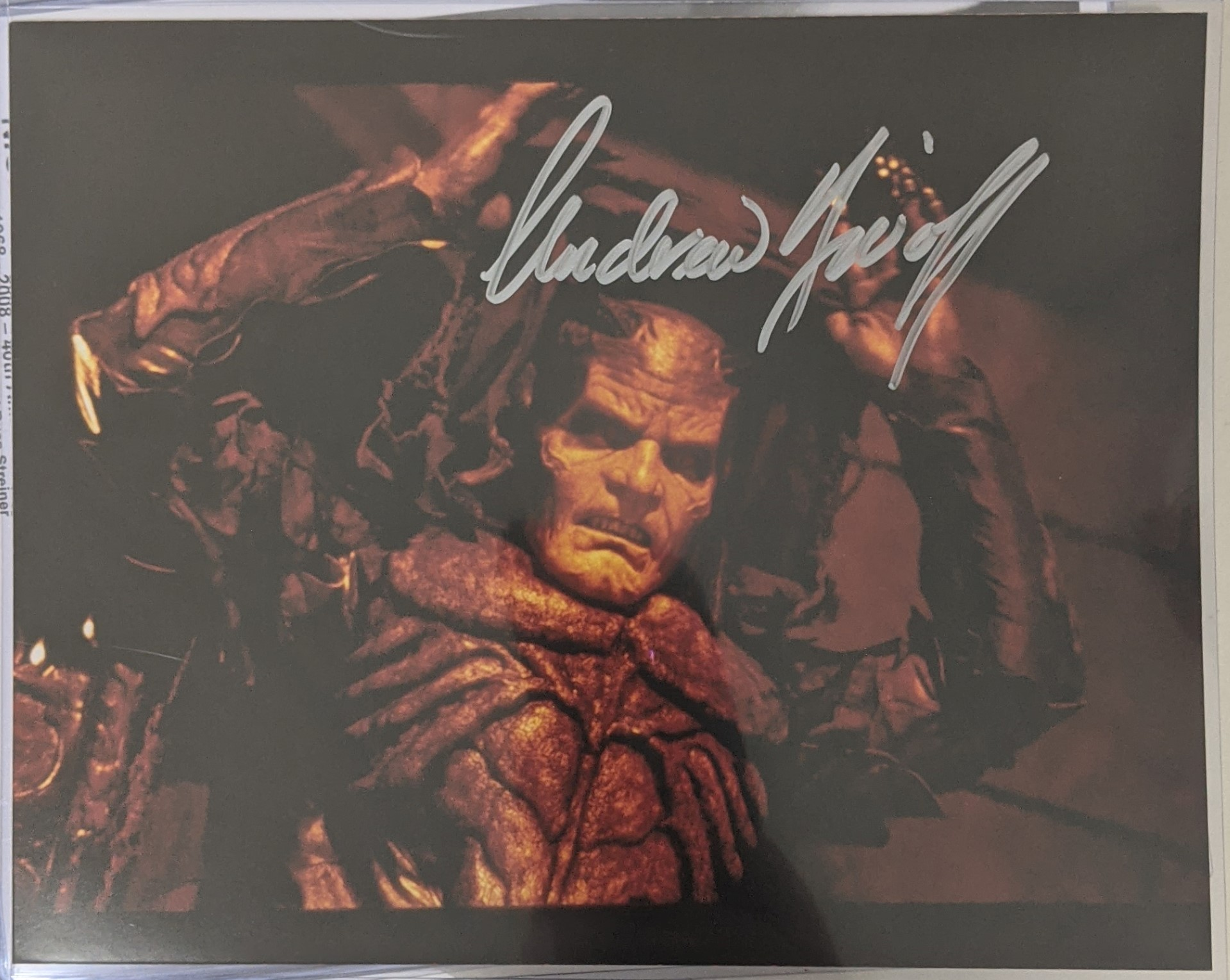 Andrew Divoff Autograph WISHMASTER Photo