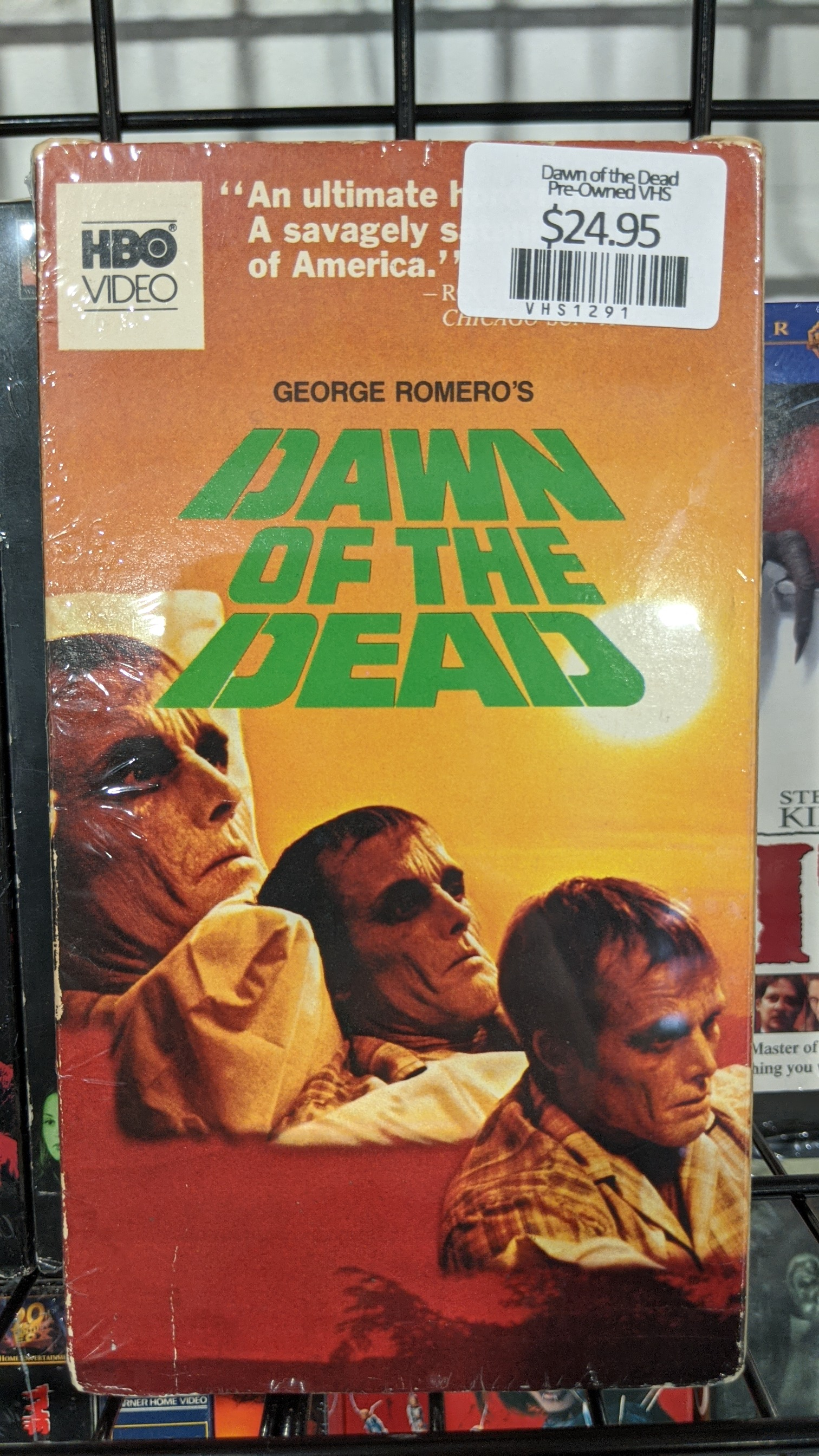 Dawn of the Dead Pre-Owned VHS