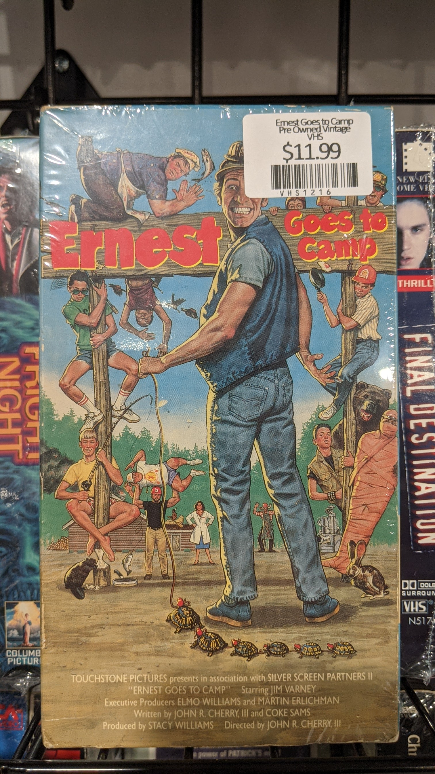 Ernest Goes to Camp Pre Owned Vintage VHS