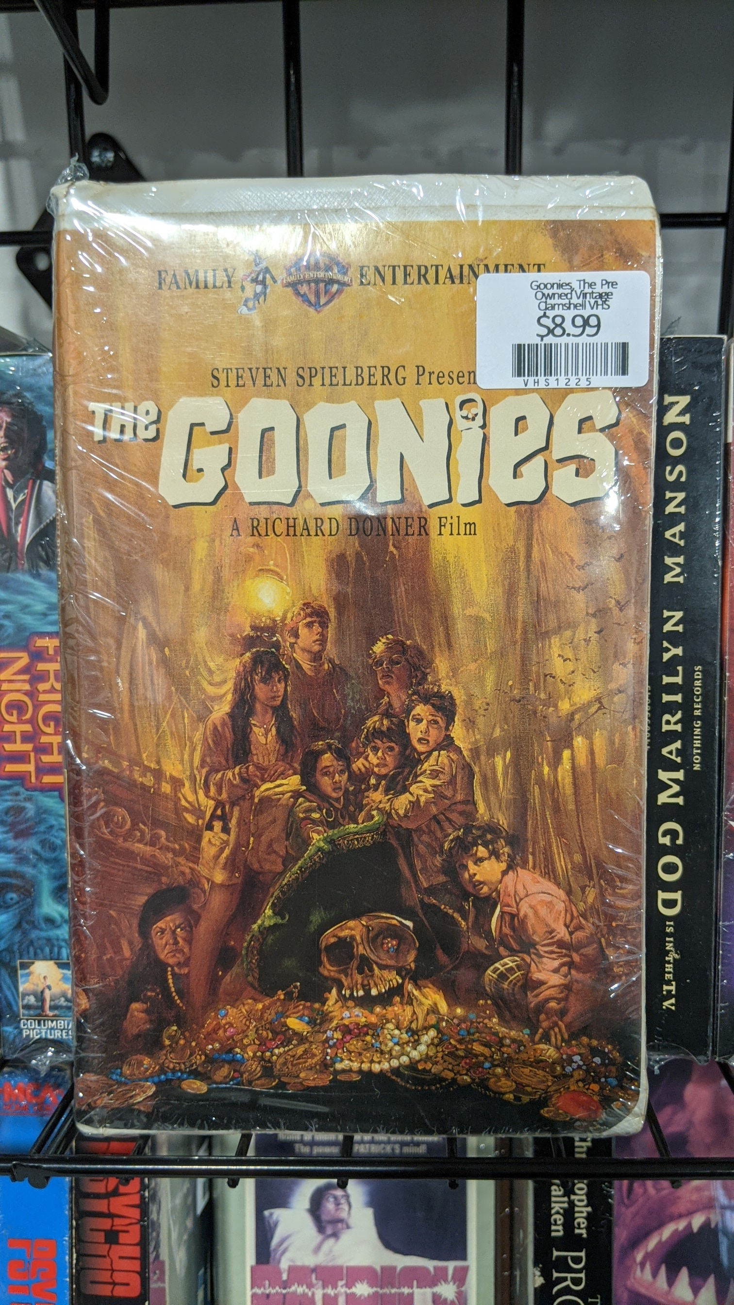 Goonies, The  Pre Owned Vintage Clamshell VHS