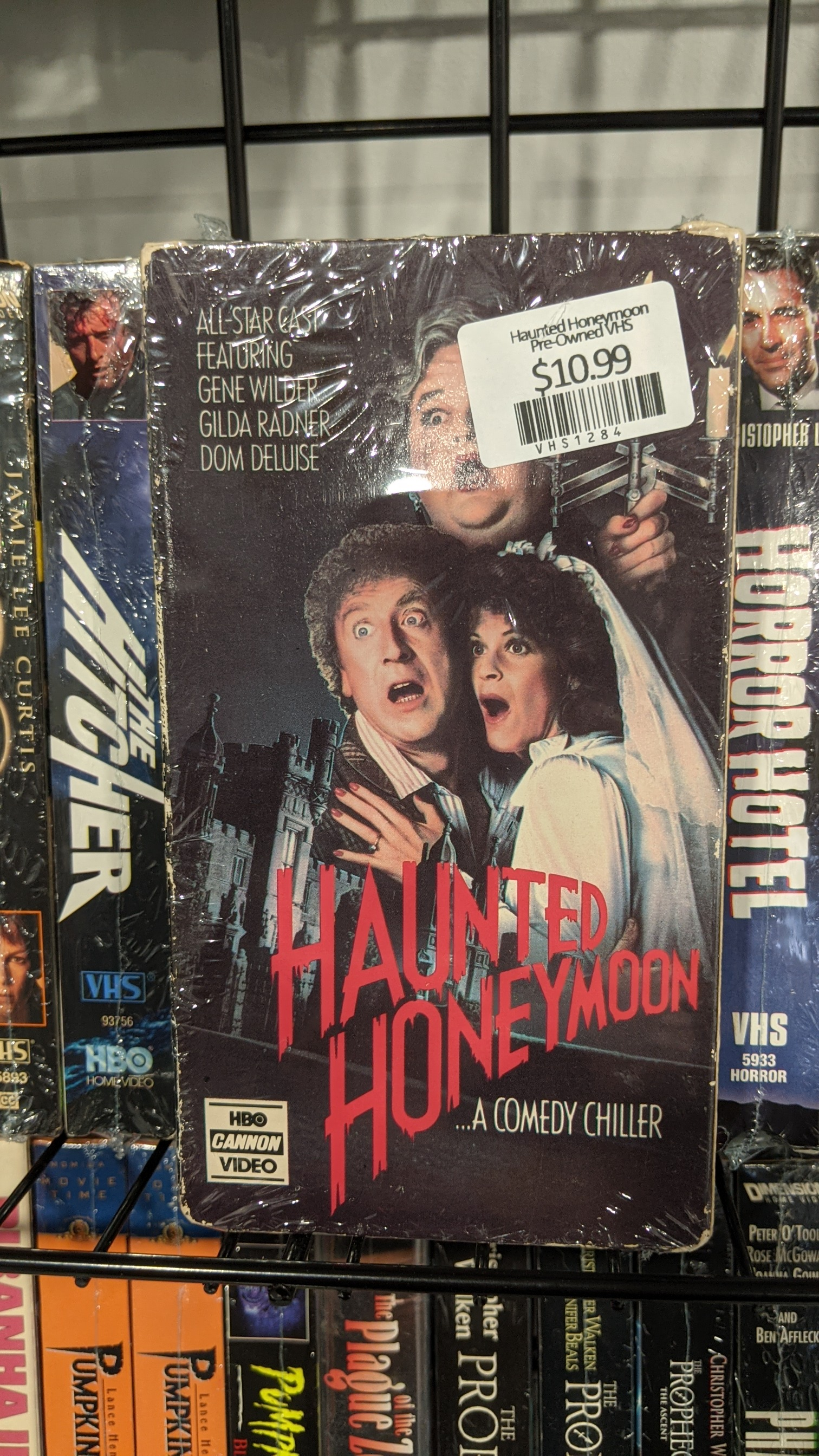 Haunted Honeymoon Pre-Owned VHS