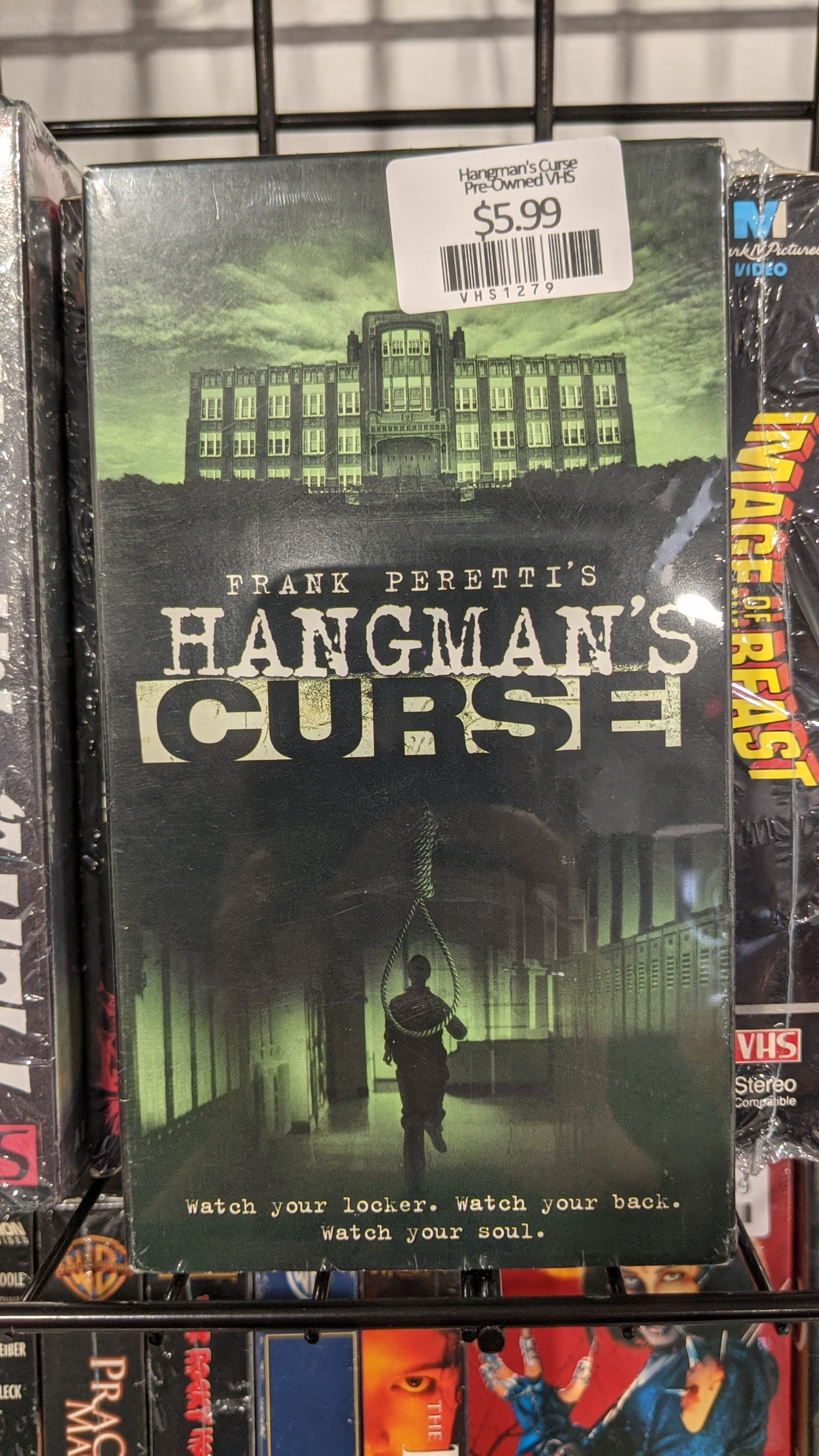 Hangman's Curse Pre-Owned VHS