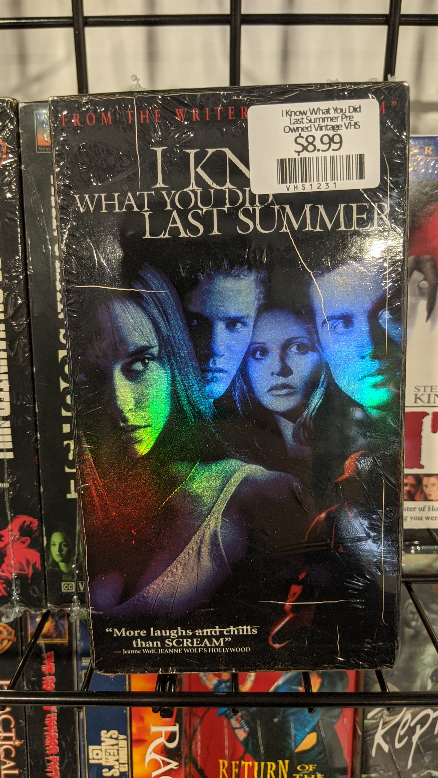 I Know What You Did Last Summer Pre Owned Vintage VHS