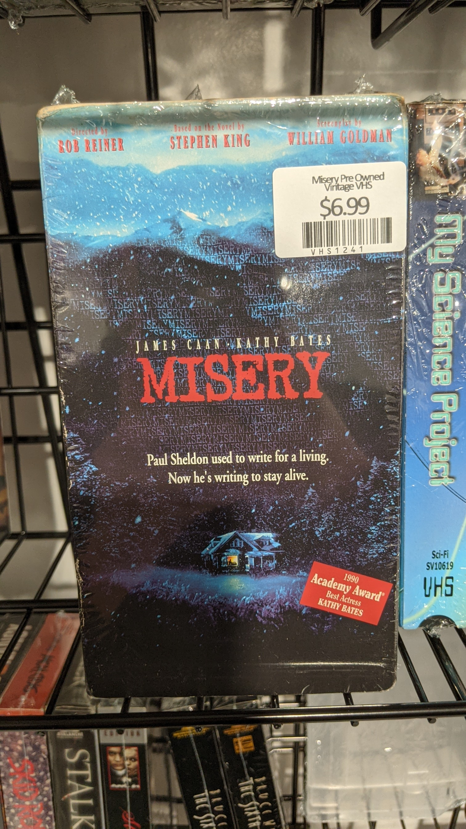 Misery Pre Owned Vintage VHS