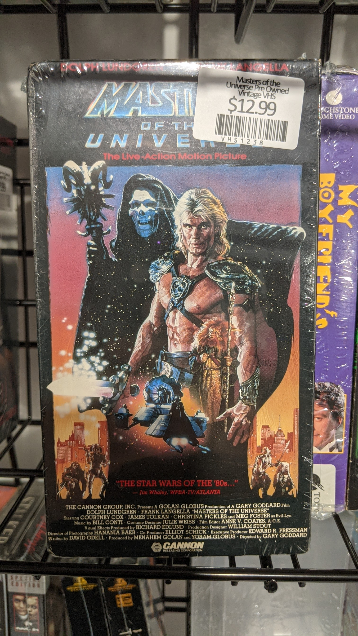 Masters of the Universe Pre Owned Vintage VHS