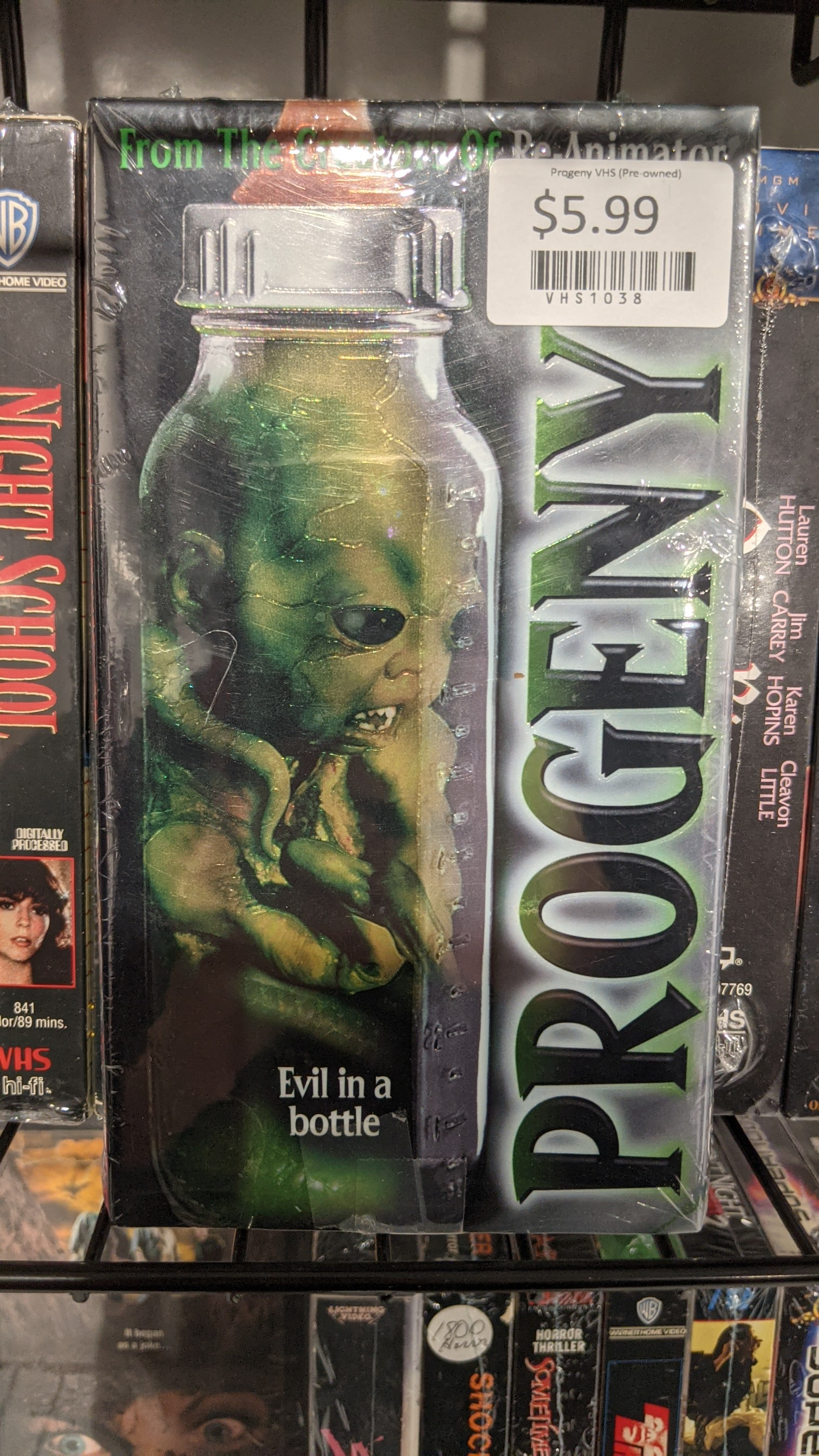 Progeny Pre Owned Vintage VHS