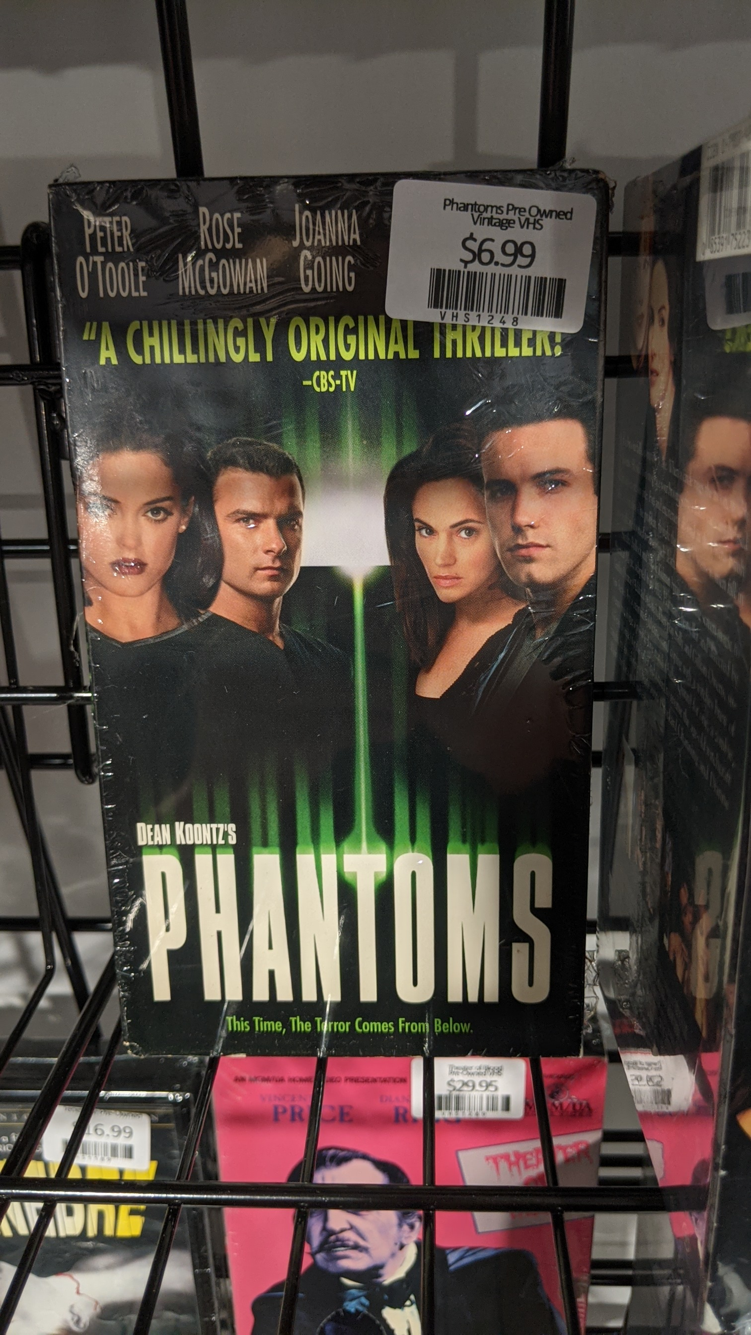 Phantoms Pre Owned Vintage VHS