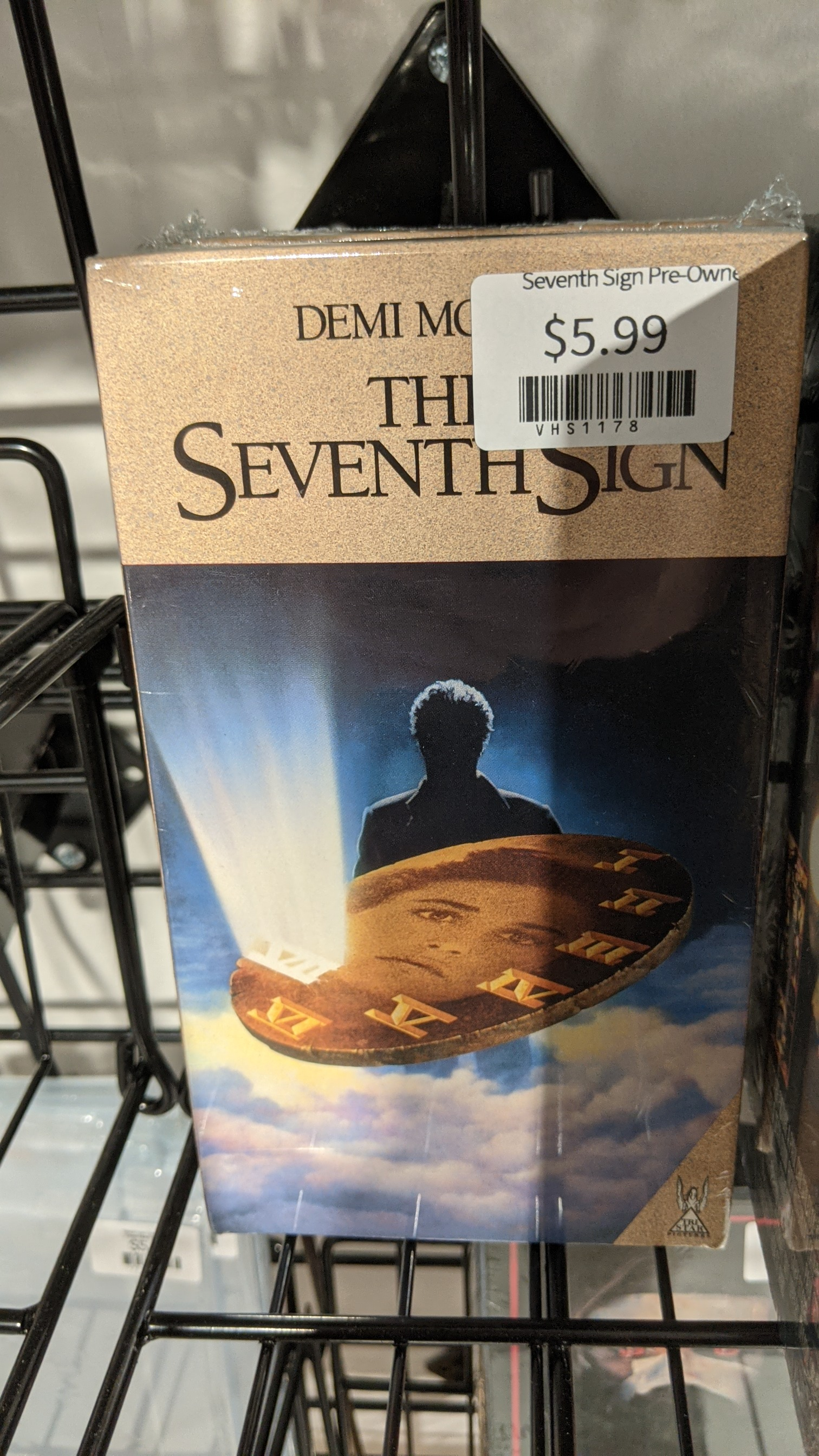 Seventh Sign Pre-Owned VHS