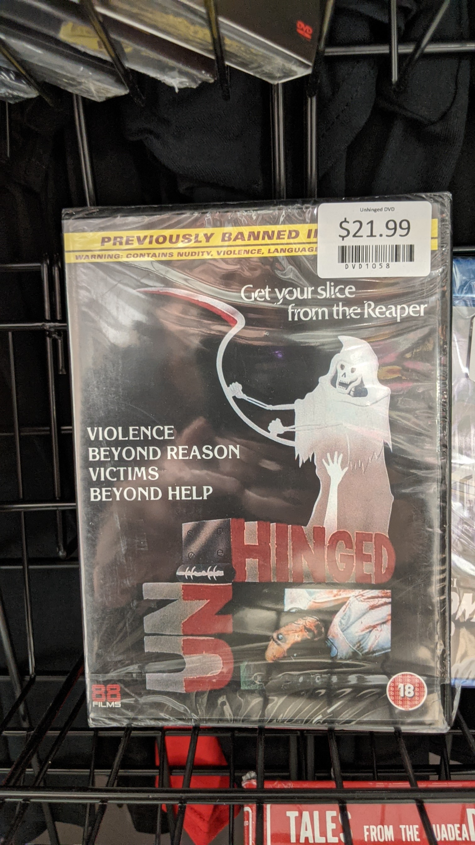 Unhinged DVD