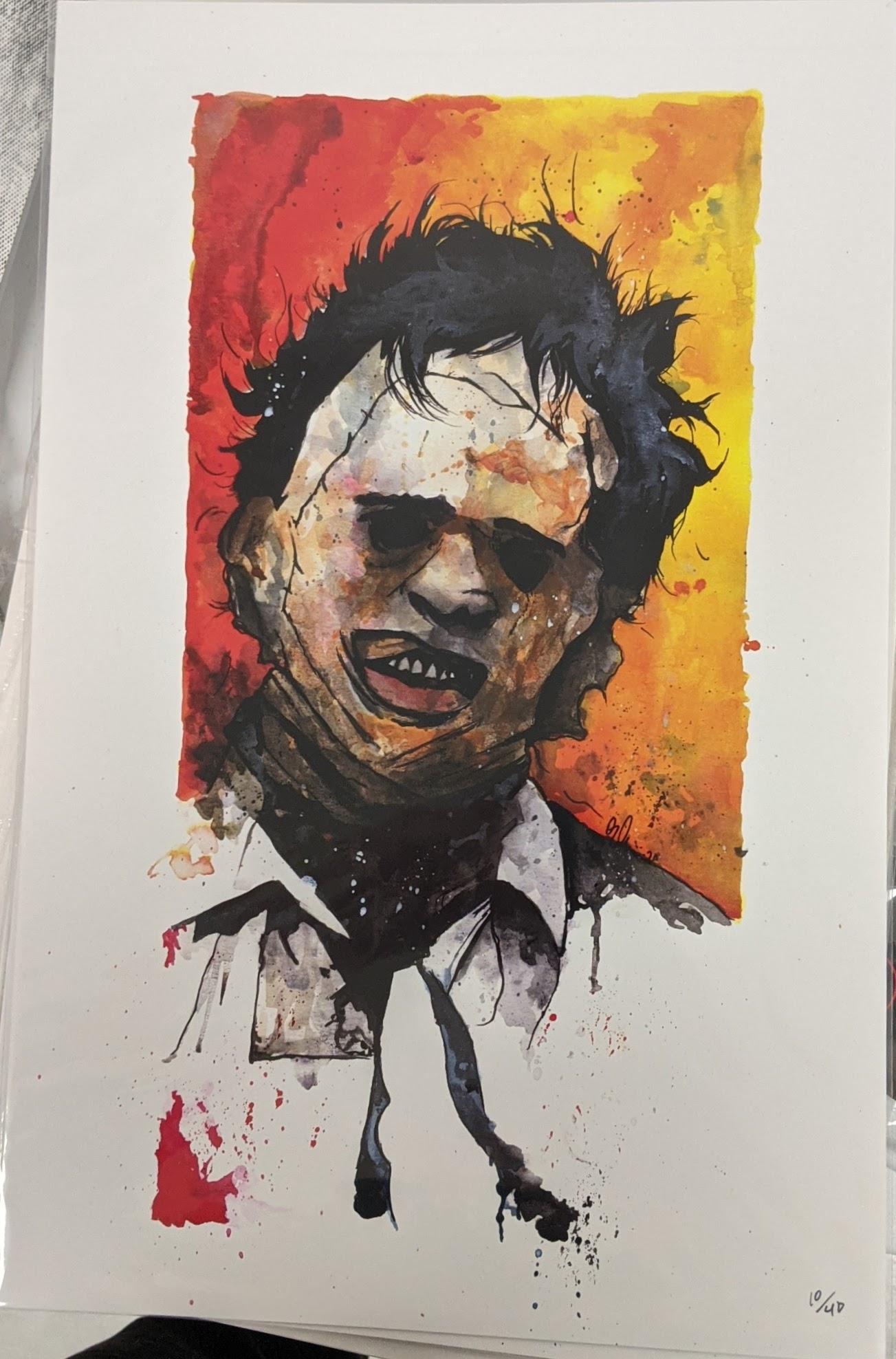 Leatherface Print 11