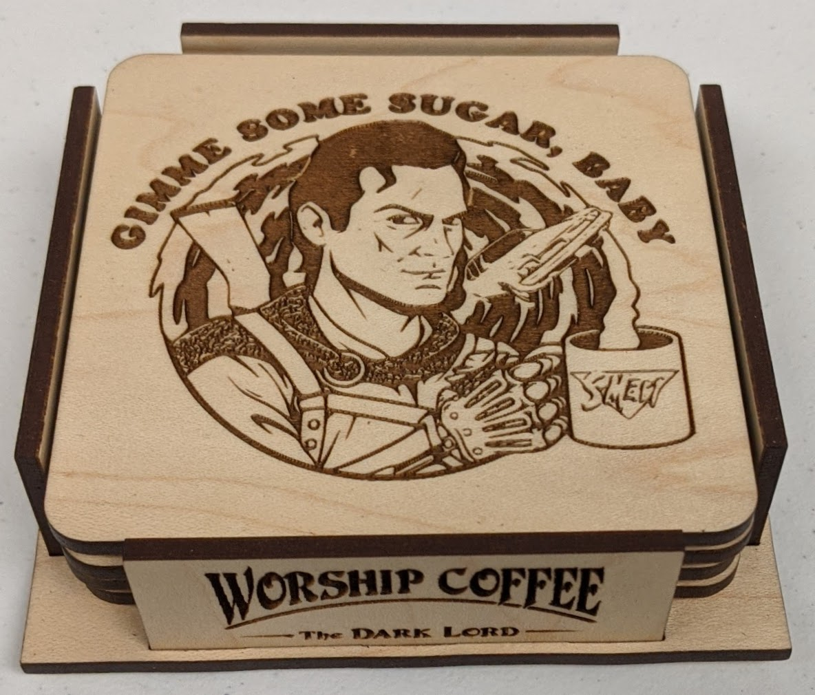 Gimme Some Sugar Coaster Set