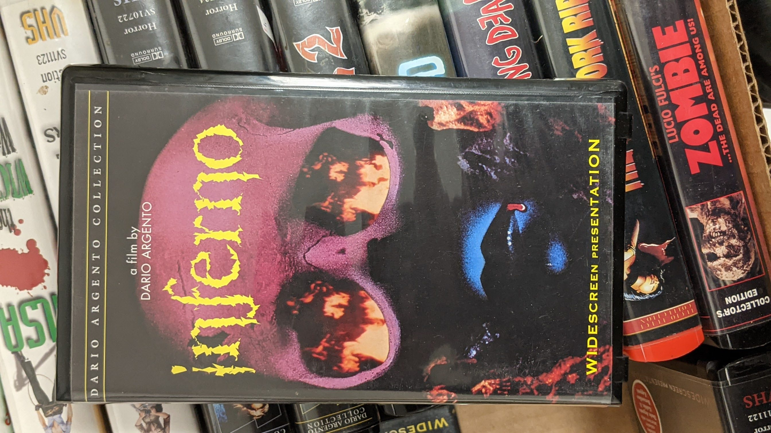 Inferno  Pre-Owned VHS