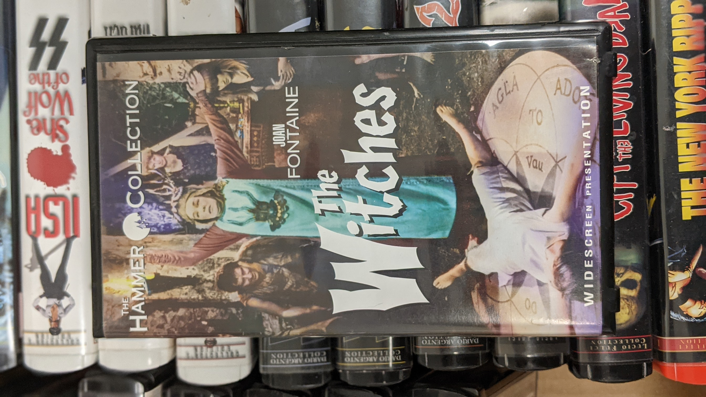 The Witches  Pre-Owned VHS