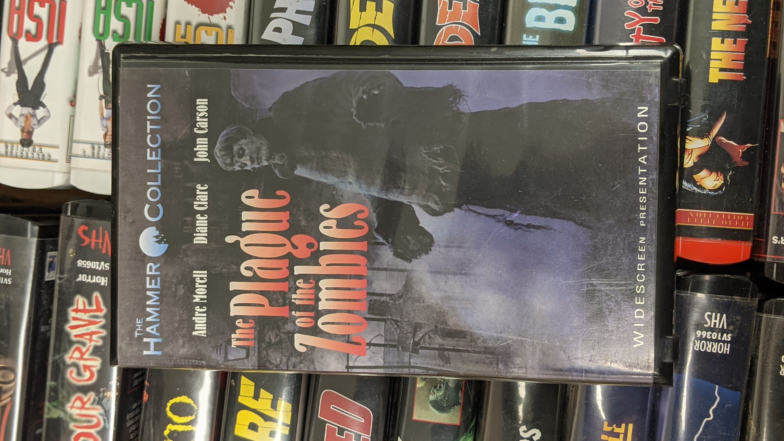 The Plague of the Zombies  Pre-Owned VHS