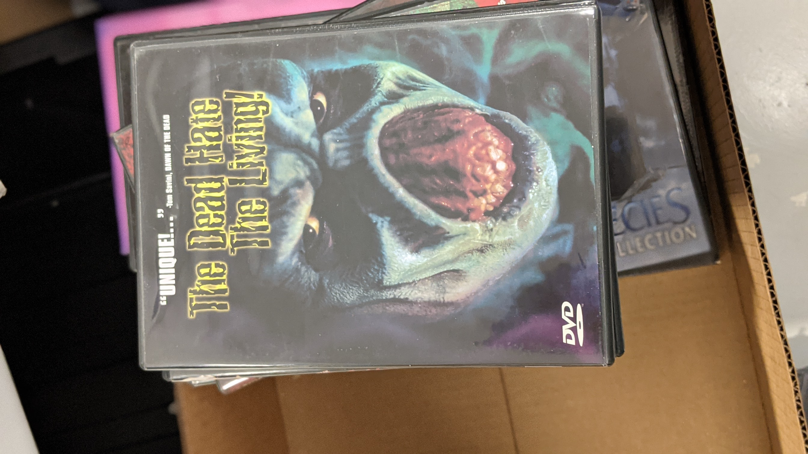 The Dead Hate the Living!  Pre-Owned DVD