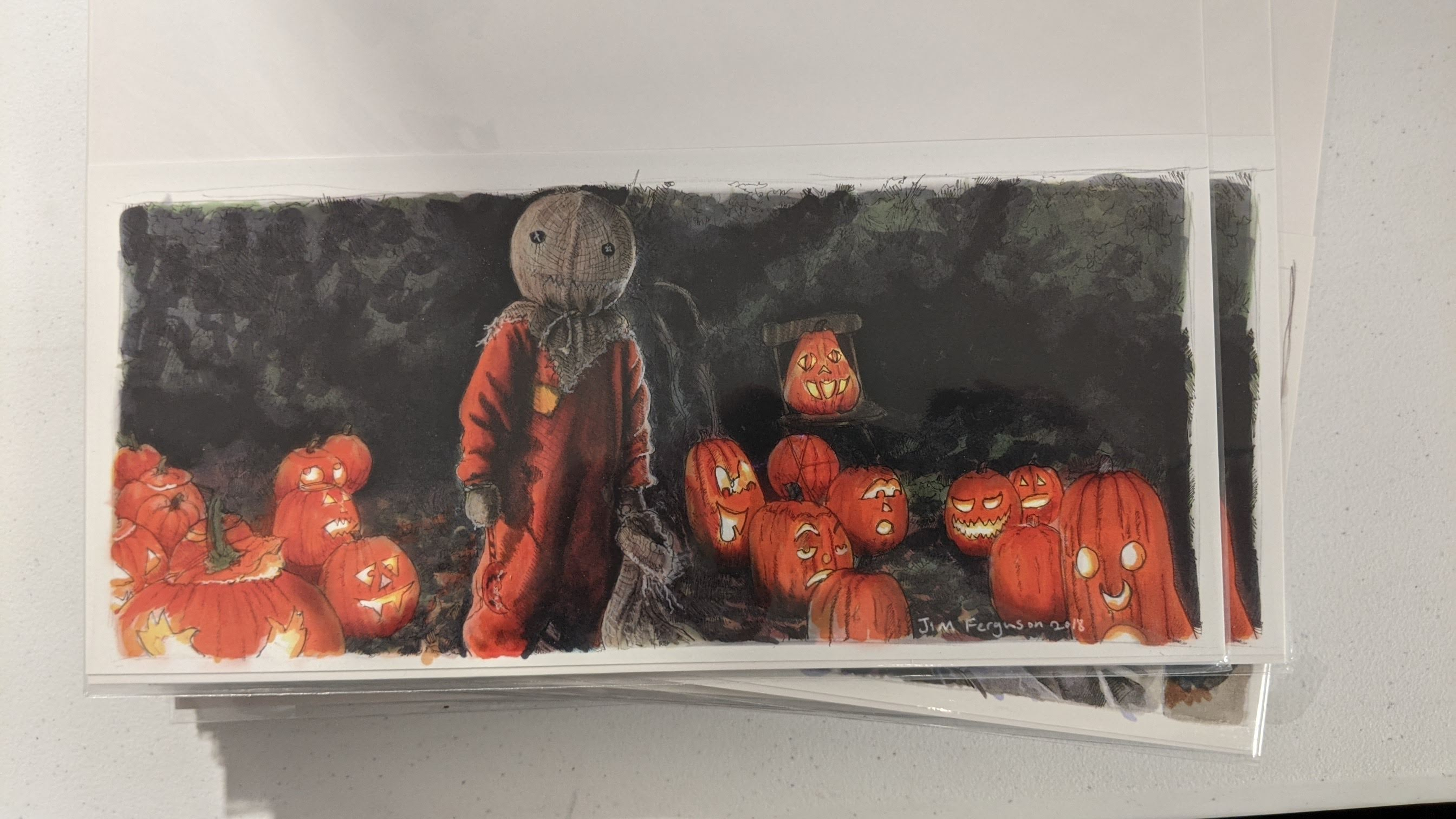 Trick or Treat Print by Jim Ferguson