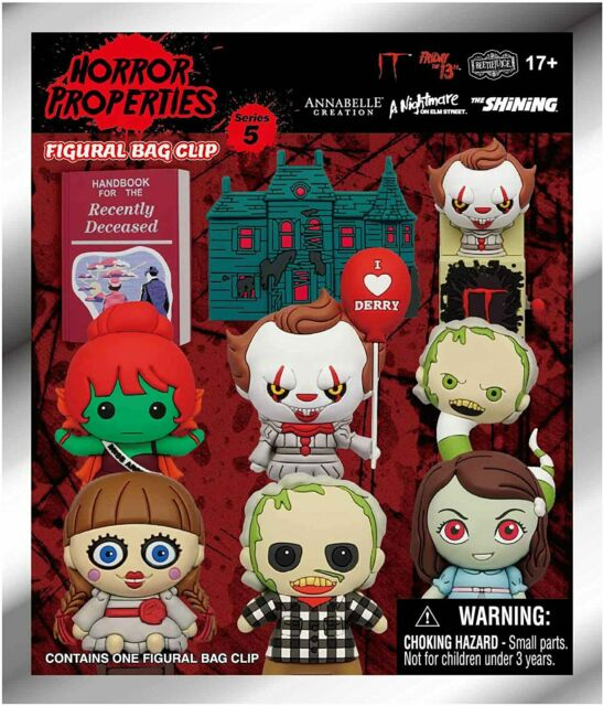 Horror Series 5 Figural Bag Clip