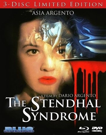 The Stendhal Syndrome Blu Ray 3 Disc Limited Edition