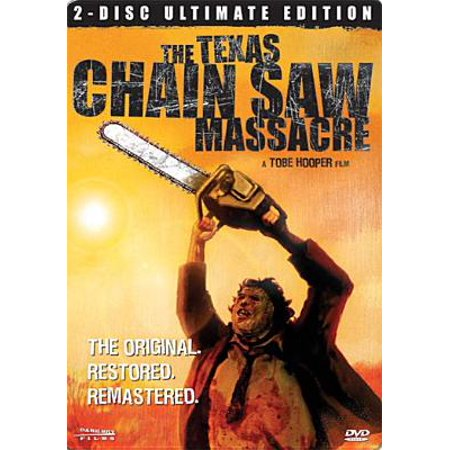 The Texas Chainsaw Massacre Steel Book DVD
