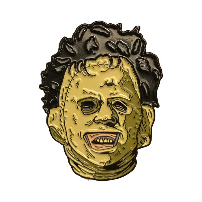 THE TEXAS CHAINSAW MASSACRE LEATHERFACE KILLER - ENAMEL PIN