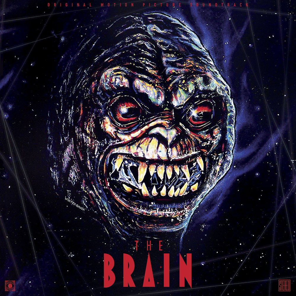 The Brain (Original Soundtrack) (1988) 2XLP BY PAUL ZAZA