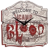 Friday the 13th Welcome to Crystal Lake Clock
