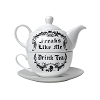 Freaks Like Me Drink Tea - Tea For One Set