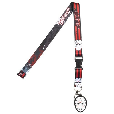 Friday the 13th Lanyard with Mask Charm