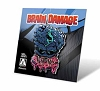 Limited Edition BRAIN DAMAGE Elmer Enamel Pin Arrow Video