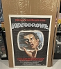 VIDEODROME Poster, Italian 1p 1985 David Cronenberg, James Woods in TV