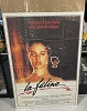 CAT PEOPLE French 1p Poster 1982 sexy Nastassja Kinski