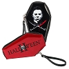 HALLOWEEN, MICHAEL MYERS GLITTER COFFIN WALLET